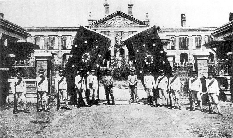 'the 1911 revolution was in fact 1911 republican revolution breaks out in military barracks in wuchang -- meets little resistance in near-bloodless ouster of manchu dynasty sun yat-sen named provisional president.